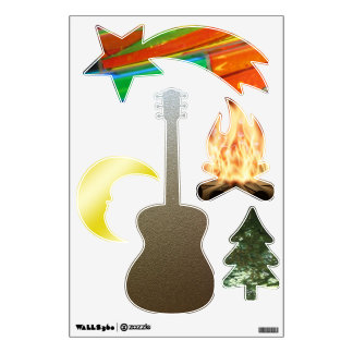 Wall Decal--Camping Wall Decal