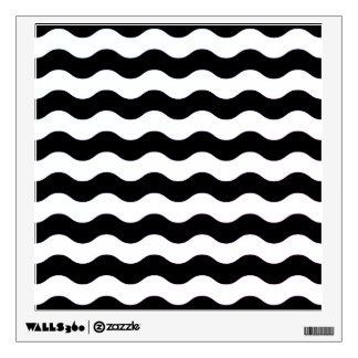 Wall decal : Contemporary black and white