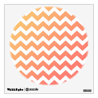 Wall decal : Gold and white