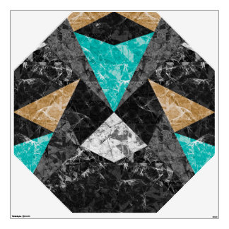 Wall Decal Marble Geometric Background G430