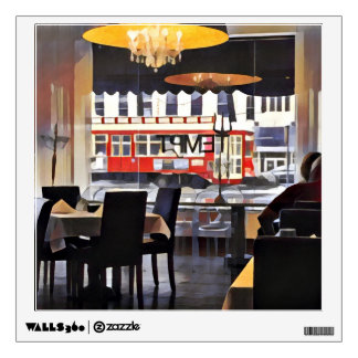 "Wall Decal ""Tempt"" restaurant New Orleans"