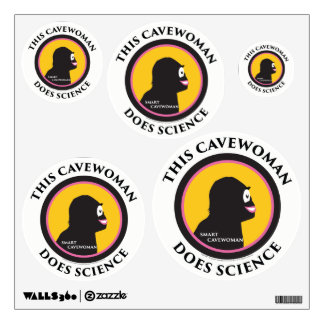 Wall Decal This Smart Cavewoman Does Science