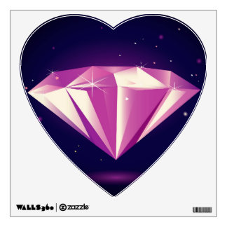 Wall decal with Diamond