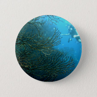 Wall dive 2 inch round button