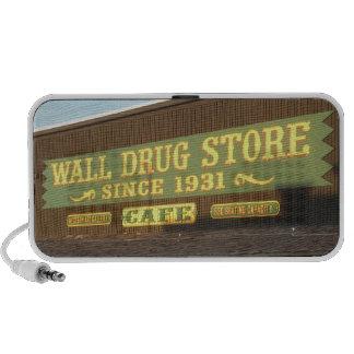 wall drug store speakers