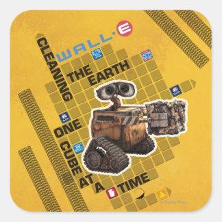 Wall-E 1 Square Sticker