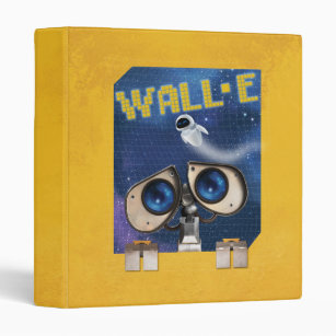 WALL-E 2 3 RING BINDER