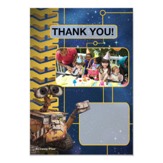 Wall-E Birthday Thank You Cards