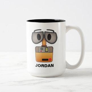WALL-E Emoji Two-Tone Coffee Mug