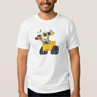 WALL-E robot sad holding plant Shirts