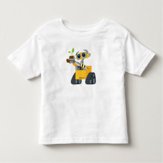 WALL-E robot sad holding plant Toddler T-shirt