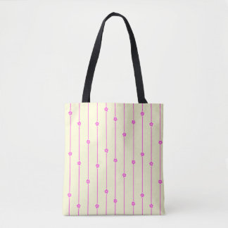 Wall Flowers All-Over-Print Tote