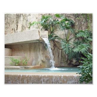 Wall Fountain Photo Print