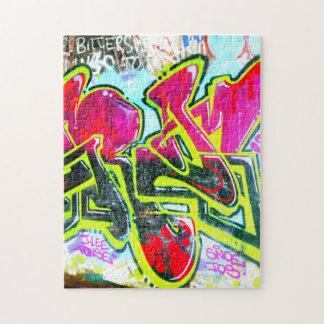 wall graffiti puzzle