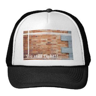 wall トラッカー帽子