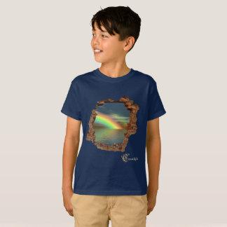 wall hole t-shirt
