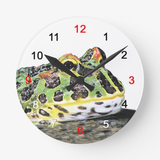 Wall-mounted clock of berutsunogaeru, No.01