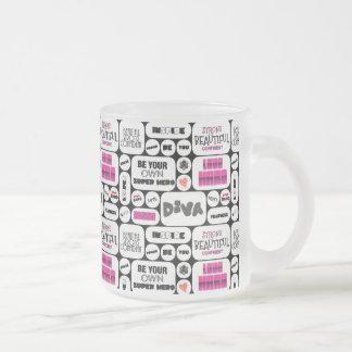 Wall Of Inspiration Frosty Mug Coffee Mugs