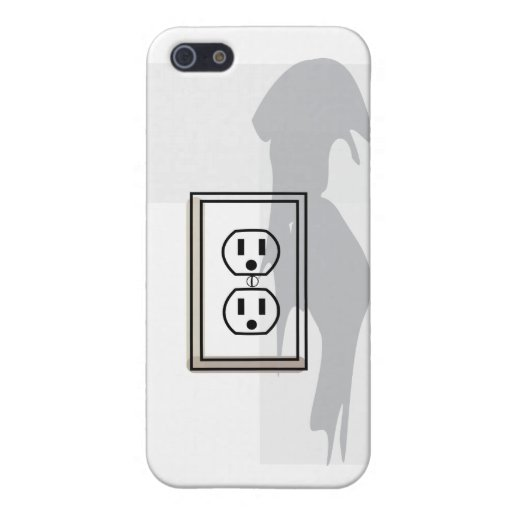 Wall socket phone case thingy! cover for iPhone 5