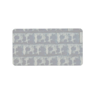Wall stones Toronto Custom Address Labels