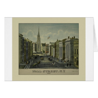 Wall Street 1847 Card