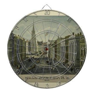 Wall Street 1847 Dartboard