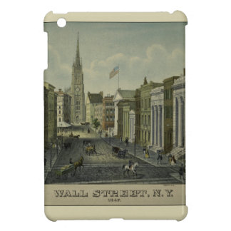 Wall Street 1847 iPad Mini Case