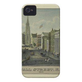 Wall Street 1847 iPhone 4 Case