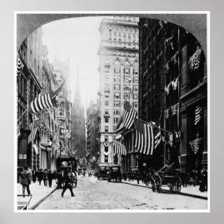 Wall Street 1900 Poster