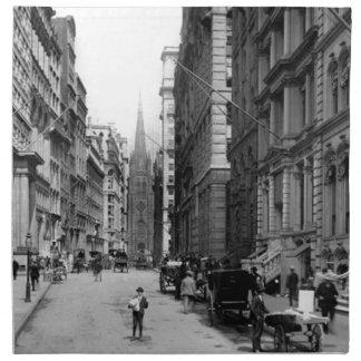 Wall Street 1900's Napkin