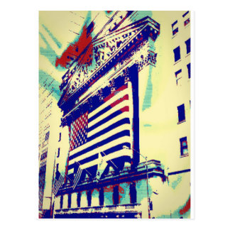 Wall Street Art Postcard
