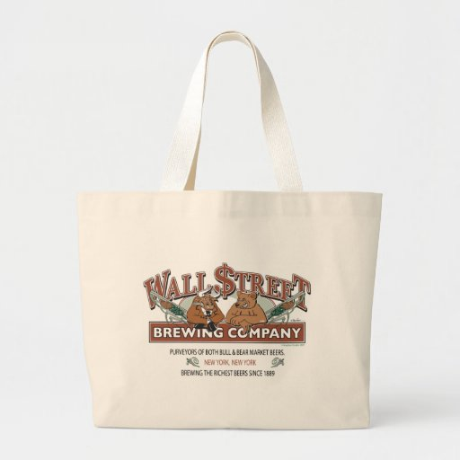 WALL-STREET-BREWING-Company Canvas Bags