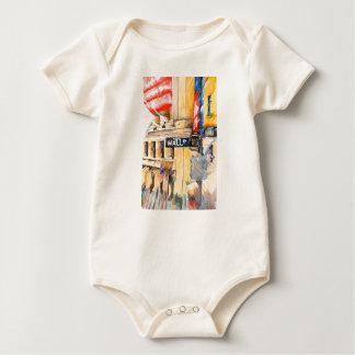 Wall street I Baby Bodysuit