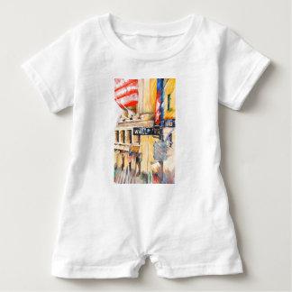 Wall street I Baby Romper