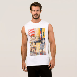 Wall street I Sleeveless Shirt