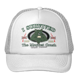 Wall-street/I Survived the Market Crash Trucker Hat