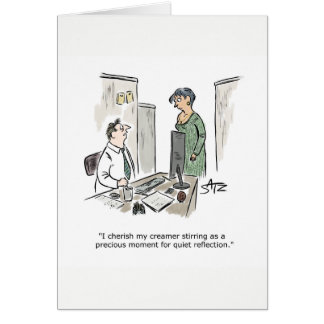 Wall Street Journal business greeting card