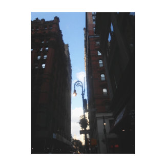 Wall Street, New York City Canvas Print