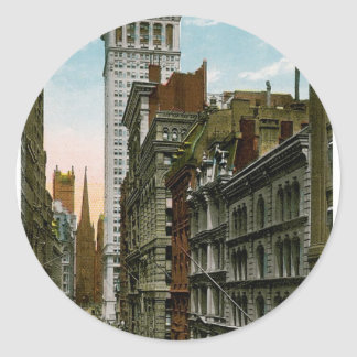 Wall Street New York City Sticker