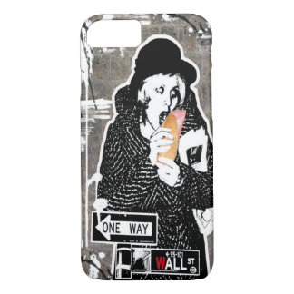 WALL STREET – The breakfast in the Stock Exchange iPhone 7 Case