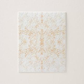 Wall texture flower Rorschach Jigsaw Puzzle