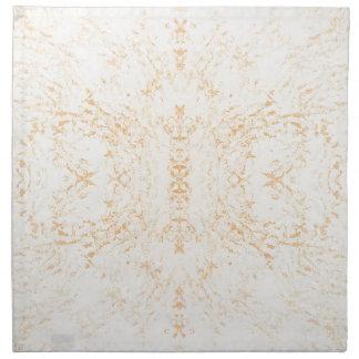 Wall texture flower Rorschach Napkin
