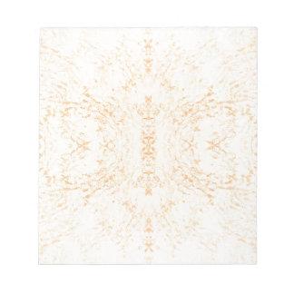 Wall texture flower Rorschach Notepad