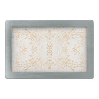 Wall texture flower Rorschach Rectangular Belt Buckles