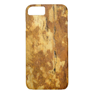 WALL TEXTURE WOOD RUSTY iPhone 7 HARD CASE