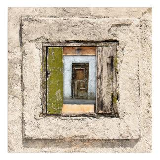 Wall, Window And Door Acrylic Print