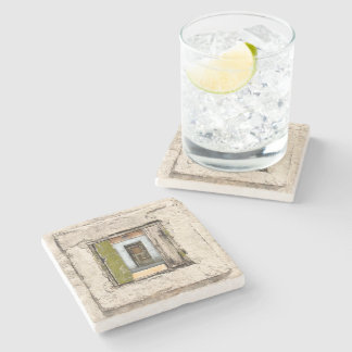 Wall, Window And Door Stone Coaster