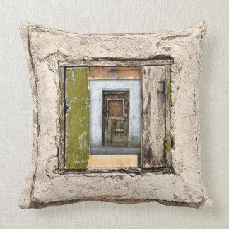 Wall, Window And Door Throw Pillow