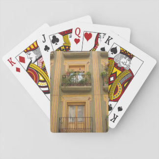 Wall windows Spain Photo Classic Playing Cards