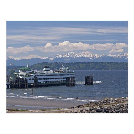 Walla Walla Ferry Postcard